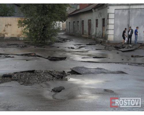 Лета не будет...Ростов-на-Дону после воскресного ливня.  Фотографии polax.  Город.