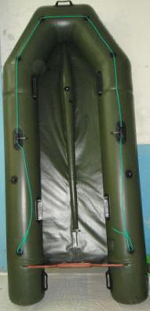 Надувной киль для лодки пвх своими руками видео